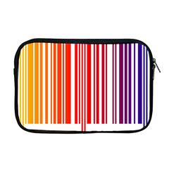 Colorful Gradient Barcode Apple Macbook Pro 17  Zipper Case
