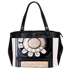 Vintage Payphone Oversize Office Handbag (2 Sides)