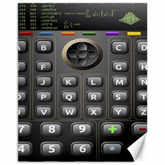 Scientific Solar Calculator Canvas 11  X 14