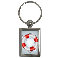 Spare Tire Icon Vector Key Chains (rectangle)