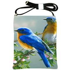 Loving Birds Shoulder Sling Bag