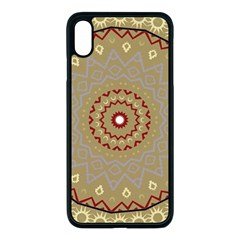 Mandala Art Ornament Pattern Iphone Xs Max Seamless Case (black) by Sudhe