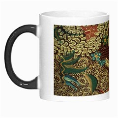 Colorful The Beautiful Of Art Indonesian Batik Pattern Morph Mugs