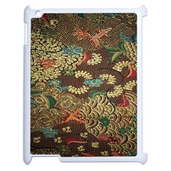 Colorful The Beautiful Of Art Indonesian Batik Pattern Apple Ipad 2 Case (white)
