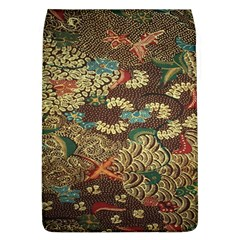 Colorful The Beautiful Of Art Indonesian Batik Pattern Removable Flap Cover (l)