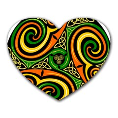 Celtic Celts Circle Color Colors Heart Mousepads