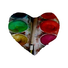 Paint Box Standard 16  Premium Heart Shape Cushions