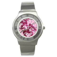 Love Browning Deer Glitter Stainless Steel Watch by Sudhe