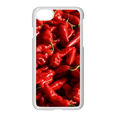 Red Chili Iphone 7 Seamless Case (white) by Sudhe