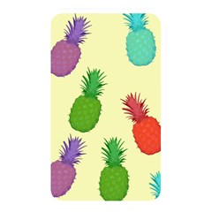 Colorful Pineapples Wallpaper Background Memory Card Reader (rectangular)