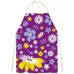 Floral Flowers Full Print Aprons