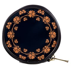 Floral Vintage Royal Frame Pattern Mini Makeup Bag