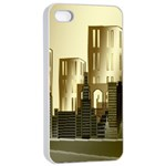 Architecture City House iPhone 4/4s Seamless Case (White) Front