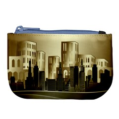 Architecture City House Large Coin Purse