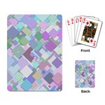Colorful Background Multicolored Playing Cards Single Design Back