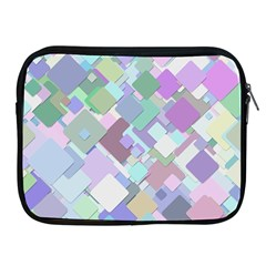 Colorful Background Multicolored Apple Ipad 2/3/4 Zipper Cases
