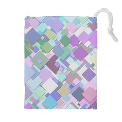 Colorful Background Multicolored Drawstring Pouch (xl)