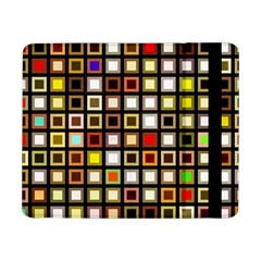 Squares Colorful Texture Modern Art Samsung Galaxy Tab Pro 8 4  Flip Case