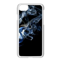 Smoke Flame Dynamic Wave Motion Iphone 8 Seamless Case (white) by Sudhe