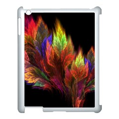 Abstract Digital Art Fractal Apple Ipad 3/4 Case (white)