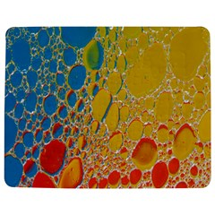 Bubbles Abstract Lights Yellow Jigsaw Puzzle Photo Stand (rectangular)