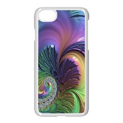 Fractal Artwork Art Swirl Vortex Iphone 7 Seamless Case (white)