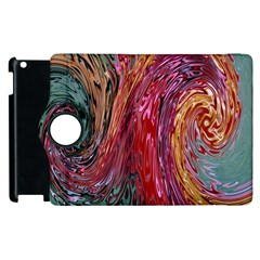 Color Rainbow Abstract Flow Merge Apple Ipad 3/4 Flip 360 Case