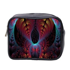 Abstract Abstracts Geometric Mini Toiletries Bag (two Sides)