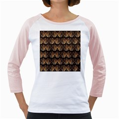Lion Face Girly Raglan