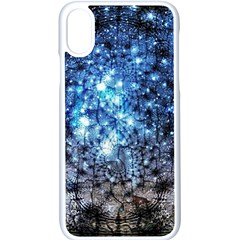 Abstract Fractal Magical Iphone X Seamless Case (white)