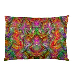 Background Psychedelic Colorful Pillow Case (two Sides)