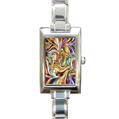 Wallpaper Psychedelic Background Rectangle Italian Charm Watch