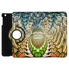 Abstract Fractal Magical Apple Ipad Mini Flip 360 Case