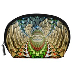 Abstract Fractal Magical Accessory Pouch (large) by Sudhe
