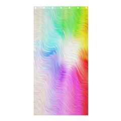 Psychedelic Background Wallpaper Shower Curtain 36  X 72  (stall)