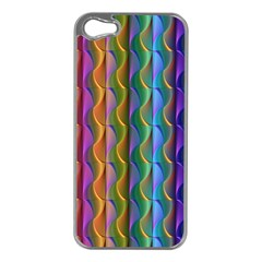 Background Wallpaper Psychedelic Iphone 5 Case (silver)