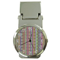 Psychedelic Background Wallpaper Money Clip Watches