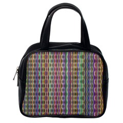 Psychedelic Background Wallpaper Classic Handbag (one Side)