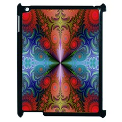 Fractal Background Design Apple Ipad 2 Case (black)