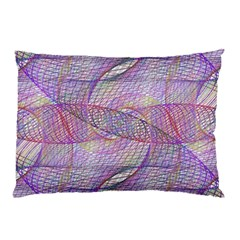 Purple Background Abstract Pattern Pillow Case