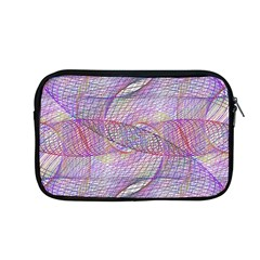 Purple Background Abstract Pattern Apple Macbook Pro 13  Zipper Case