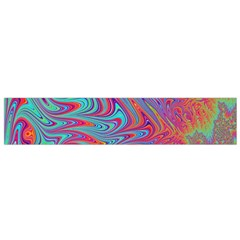 Fractal Bright Fantasy Design Small Flano Scarf