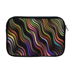 Psychedelic Background Wallpaper Apple Macbook Pro 17  Zipper Case