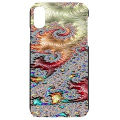 Fractal Artwork Design Pattern Iphone Xr Black Frosting Case