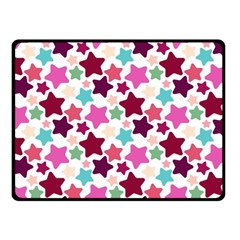Stars Pattern Fleece Blanket (small)