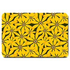 Texture Flowers Nature Background Large Doormat
