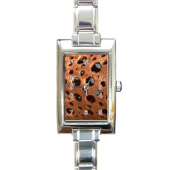 Texture Pattern Wallpaper Background Pattern Holes Rectangle Italian Charm Watch