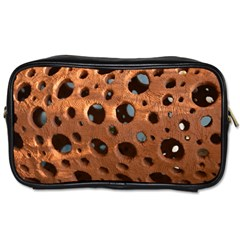Texture Pattern Wallpaper Background Pattern Holes Toiletries Bag (one Side)