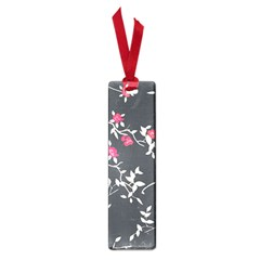 Black And White Floral Pattern Background Small Book Marks