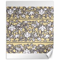 Floral Pattern Background Canvas 16  X 20  by Sudhe